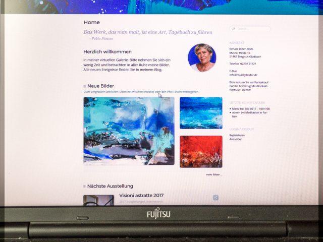 Neugestaltung der Homepage