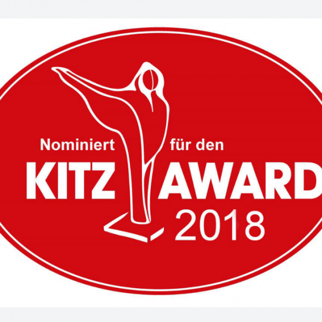 Nominierung Kitz Award 2018