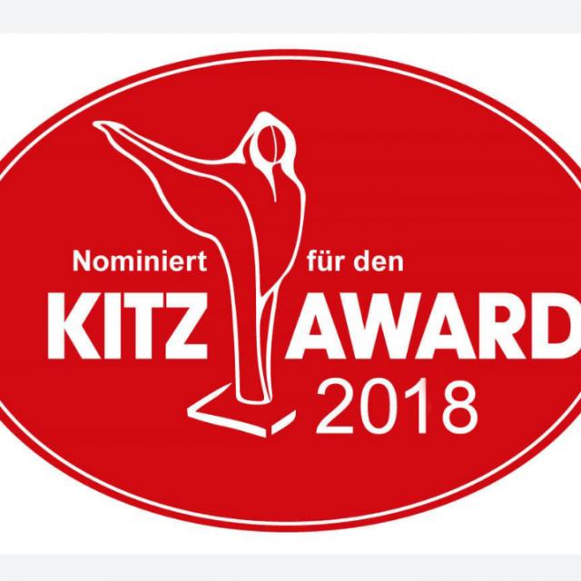 Nominierung Kitz Award 2018