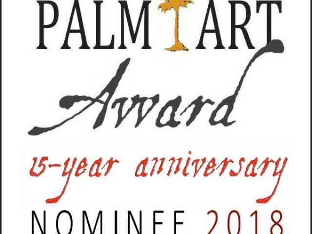 Nominierung Palm Art Award 2018