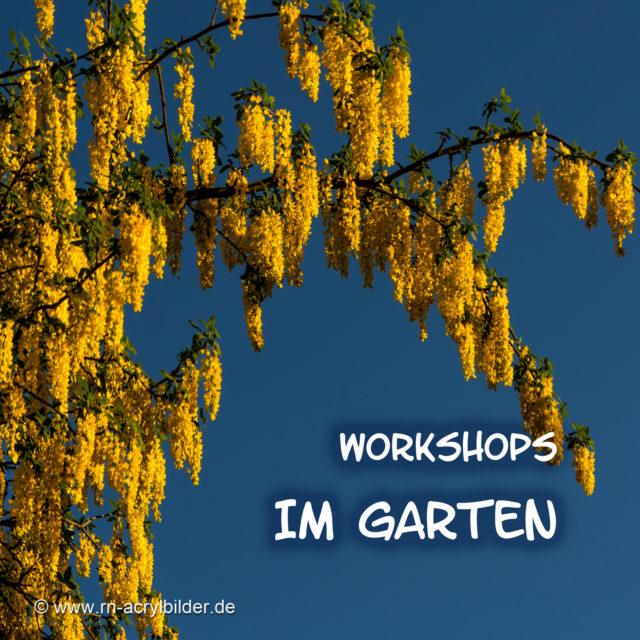 Workshops im Garten